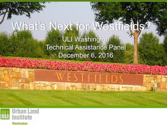 ULI Westfields Presentation